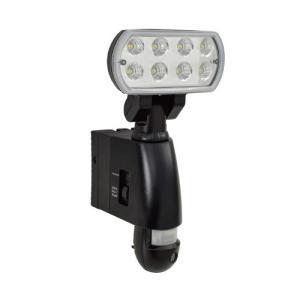 日動工業 カメラ付LED防犯センサーライト   SLS-8W-C   防雨・屋外型|summy-net