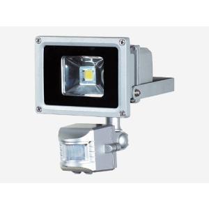 日動工業 LED防犯センサーライト10W   SLS-10W   防雨・屋外型|summy-net