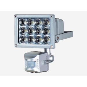 日動工業 LED防犯センサーライト12W   SLS-12P   防雨・屋外型|summy-net