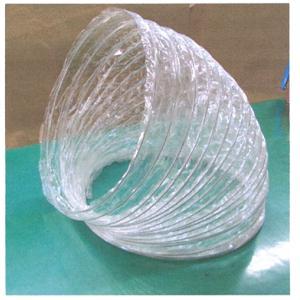 送風機用PETクリアダクト 300mm径×30M|summy-net