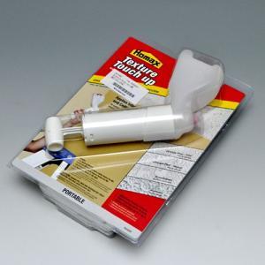 建築塗装のタッチアップに! コンプレッサーなしで玉吹きやリシンの吹付けが可能! <玉吹・リシン両用で...