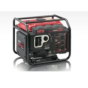 ワキタ(WAKITA LONCIN) 発電機   High Power GENERATOR HPG3000i|summy-net