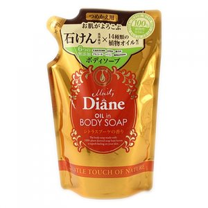 モイストダイアン ボディソープ シトラスブーケの香り つめかえ用 400ml |sumoto