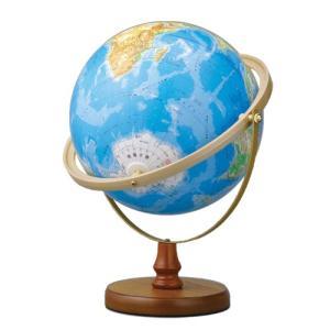 帝国書院 地球儀 N26-6R【地勢・全方位回転】【球径26cm】|sun-busicom