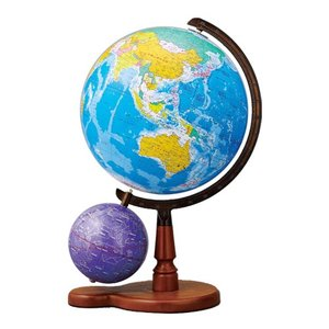 帝国書院 地球儀 N26-5WII【行政・天球儀付】【球径26cm】|sun-busicom