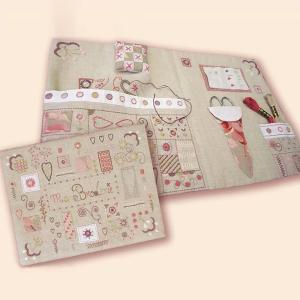 044-00651 POCHETTE BRODERIE(刺繍道具ケース)|sun-k