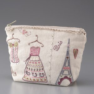 044-00925 TROUSSE PARIS(ポーチ パリ)|sun-k