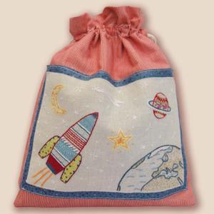 044-01102 POUR LES GARCONS - B(小物入れ 男の子 ロケット)|sun-k