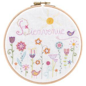 044-20002 Bienvenue au jardin(お庭へようこそ)|sun-k