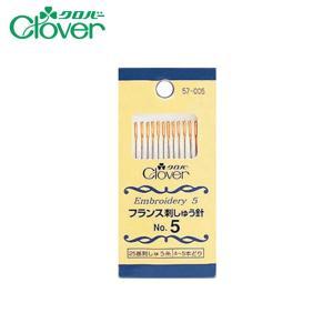 078-00026 フランス刺しゅう針No5(12本入)|sun-k