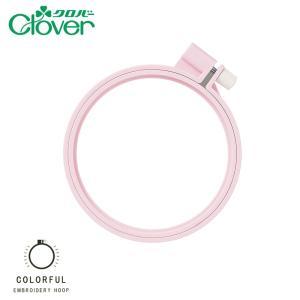 078-00030 カラフル刺しゅう枠10cm(ピンク)|sun-k