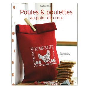 449-0267 Poules & poulettes au point de croix|sun-k