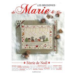 449-0270 LES BRODERIES DE MARIE & CIE FEERIE DE NOEL No.5|sun-k
