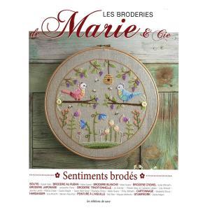 449-0271 LES BRODERIES DE MARIE & CIE SENTIMENTS BRODES No.6 sun-k