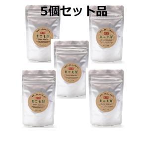 枯草菌の強力な生命力で発酵させました!枯草菌の力で腸活を!お試し用[発酵まこも茶 30g]  5個セット|sun-makomo-kunitomi