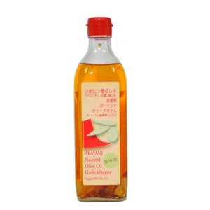 赤屋根ガーリックオリーブオイル 180g スペイン自社農園産ピュアオリーブオイル 日本オリーブ