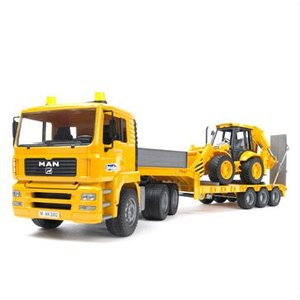 bruder ブルーダー プロシリーズ MAN トラック&JCBバックホールランド 02776|sun-wa