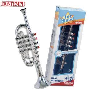 Bontempi ボンテンピ シルバートランペット 4keys 37cm 323831 知育玩具|sun-wa