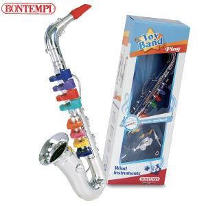 Bontempi ボンテンピ シルバーサックスフォン 8keys 42cm 324331 知育玩具 sun-wa