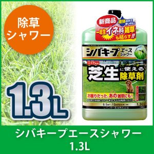 芝生 除草剤 シバキープエースシャワー 1.3L 4903471100124|sun-wa