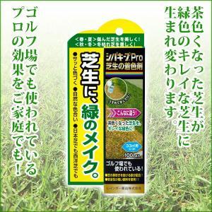 芝生 除草剤 シバキープPro芝生の着色剤 100ml|sun-wa