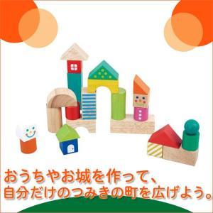 つみコレシリーズ Happy town ハッピータウン 4941746806623(ベビー用積み木、ブロック) 知育玩具|sun-wa