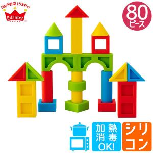 エド・インター シリコンブロックセット 4941746810354 知育玩具|sun-wa