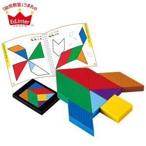 エド・インター 脳力タングラム パズル 知育玩具 木製玩具 4941746813003|sun-wa