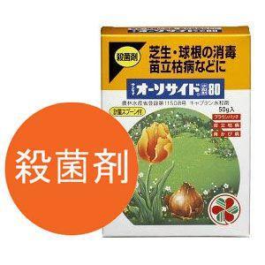 芝生 殺菌剤 サンケイ オーソサイド水和剤50g 4975292050612|sun-wa