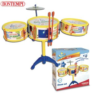 Bontempi ボンテンピ ドラムセット 3pcs 513341 知育玩具|sun-wa