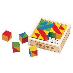 アトリエフィッシャー パズル キューブモザイク・16pcs AF3001 知育玩具 sun-wa