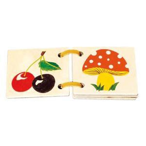 ATELIER FISCHER 木の絵本・ナチュラル AF7013(パズル) 知育玩具|sun-wa