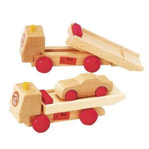 ベック BE-トレーラー BE30016(ベビー用積み木、ブロック) 知育玩具|sun-wa