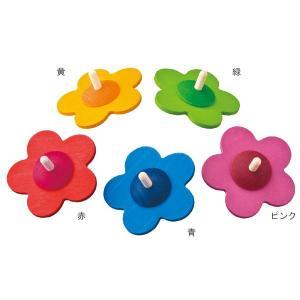 ベック 花コマ BE50019R 知育玩具|sun-wa