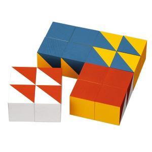 ブラザー・ジョルダン 模様づくり・小 BJ0005(積木) 知育玩具|sun-wa