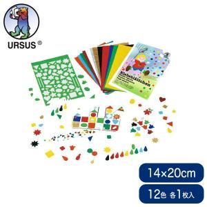 ブントパピア 型抜き紙セット BU3015699 知育玩具|sun-wa