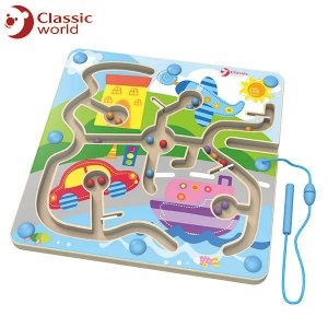 CLASSIC WORLD クラシック マグネティック タウンセット CL3580 知育玩具|sun-wa