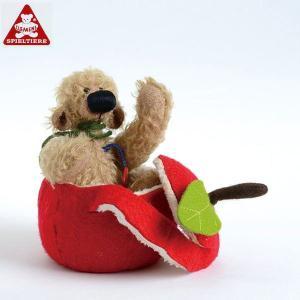 クレメンスベア・アップル CL36013(ぬいぐるみ、人形) 知育玩具|sun-wa