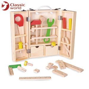 CLASSIC WORLD クラシック カーペンターズセット CL3643 知育玩具|sun-wa