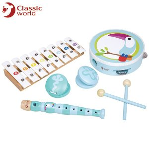 CLASSIC WORLD クラシック トゥーカン ミュージックセット CL4032 知育玩具|sun-wa