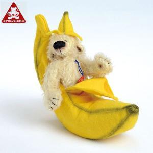 クレメンスベア・バナナ CL45015(ぬいぐるみ、人形) 知育玩具|sun-wa