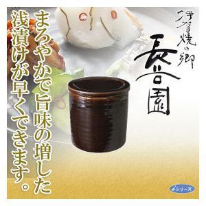 長谷園 伊賀焼 浅漬器 CT-32(調理器具)|sun-wa