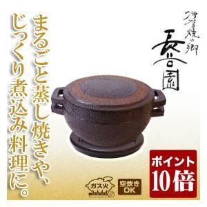 旧商品 長谷園 伊賀焼 燻製窯 ロースト名人 CT-70(調理器具)|sun-wa