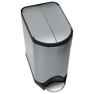 simplehuman ごみ箱 バタフライカン 20L ステンレス FPP CW1837 00123|sun-wa|02