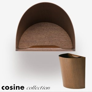 cosine collection ごみ箱 fioretto Dust Box 小 D-260W|sun-wa