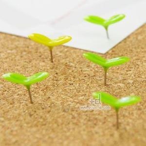 アッシュコンセプト +d Green Pin (押しピン) D-490-A(画鋲) sun-wa