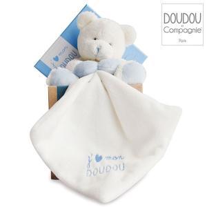 DouDou ドゥドゥー ブルーベアーウィズ ドゥドゥー DC2915 知育玩具 ぬいぐるみ|sun-wa