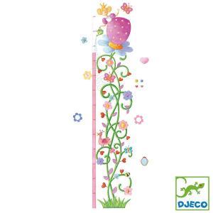 DJECO ジェコ 身長計 プリンセス DD04125 知育玩具|sun-wa