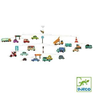 DJECO ジェコ モビール トラフィック DD04309 知育玩具|sun-wa