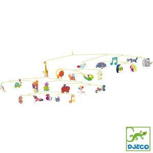 DJECO ジェコ モビール アニマル カーニバル DD04318 知育玩具|sun-wa
